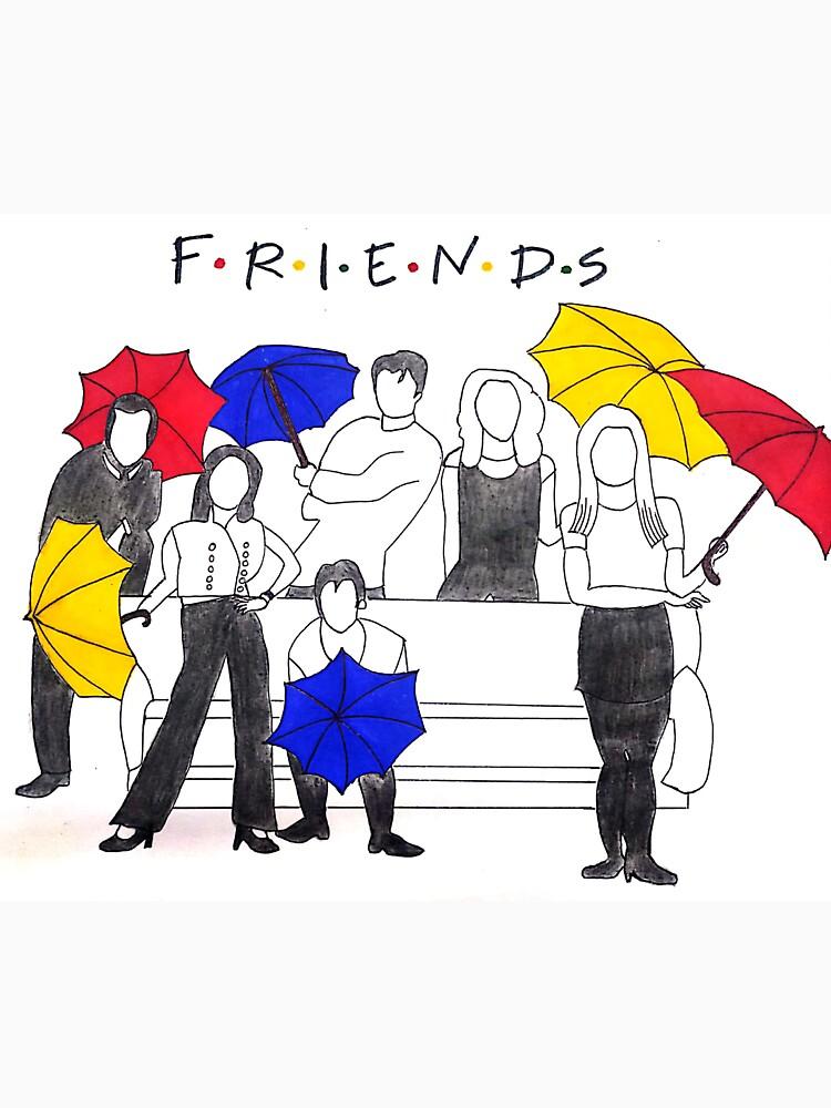 RedBubble: F.R.I.E.N.D.S sitcom art