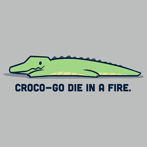 TeeTurtle: Croco-Go Die in a Fire
