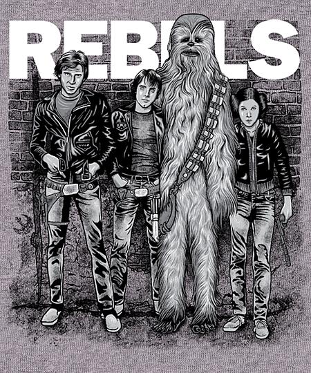 Qwertee: Rebels