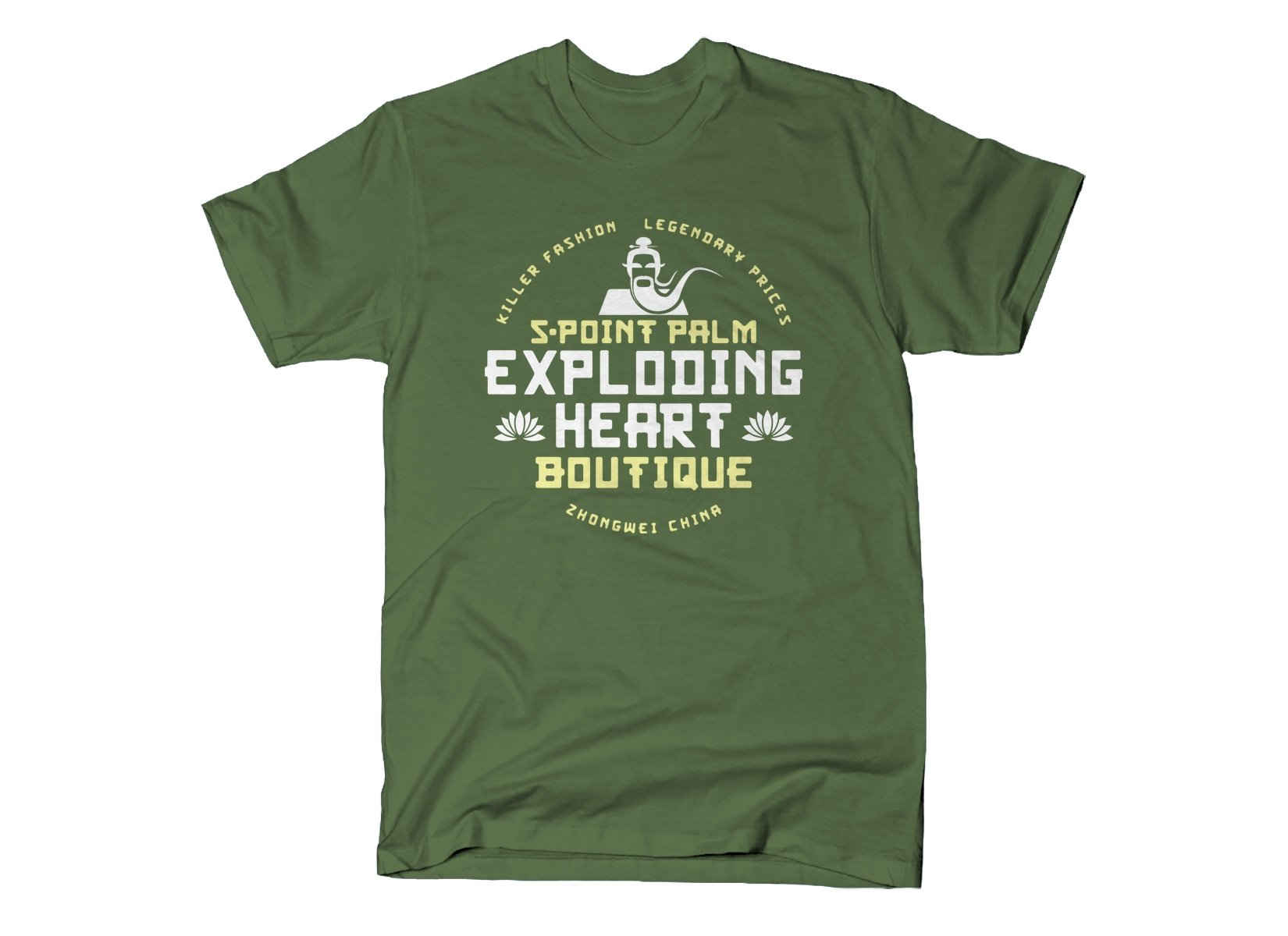 SnorgTees: 5-Point Palm Exploding Heart Boutique
