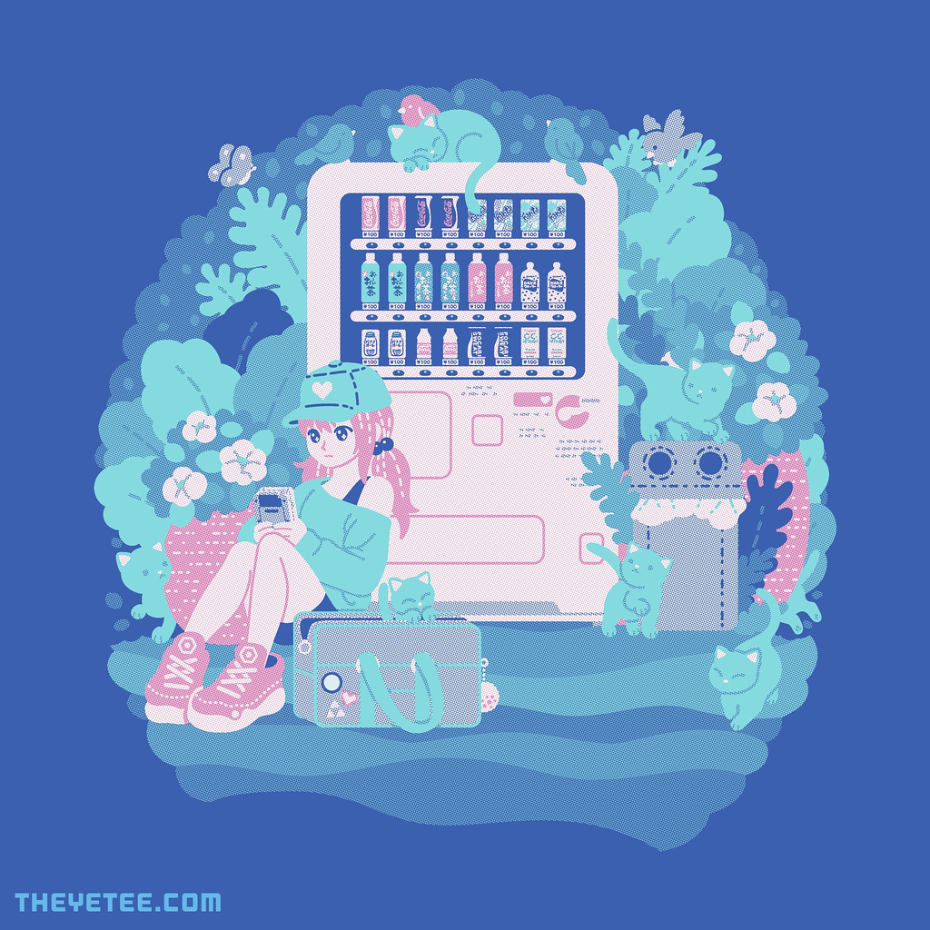 The Yetee: Cats vending