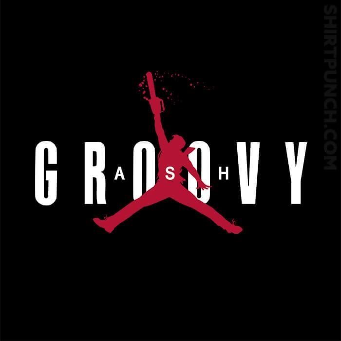 ShirtPunch: Ash Groovy