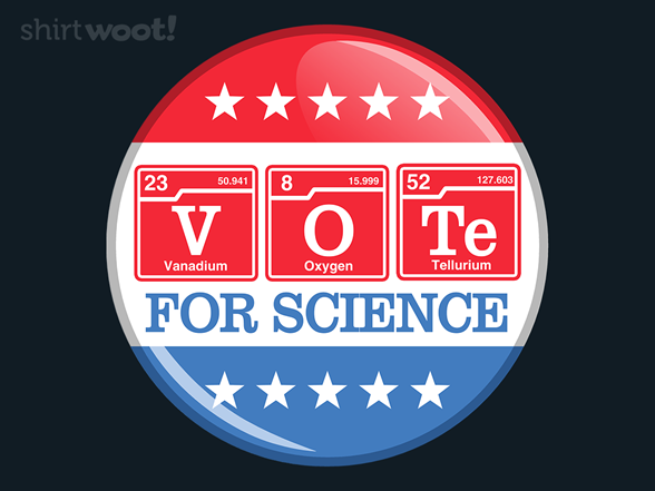 Woot!: Voting for Science