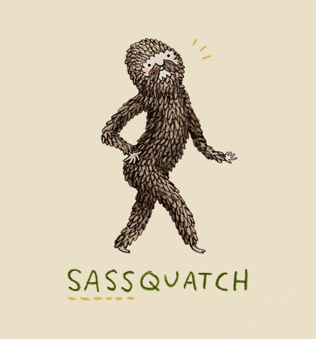 BustedTees: Sassquatch