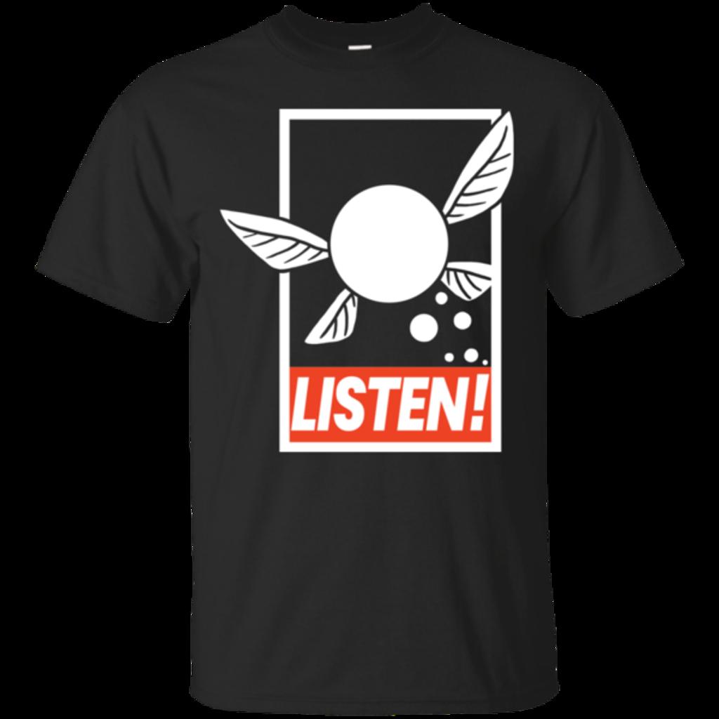 Pop-Up Tee: LISTEN!