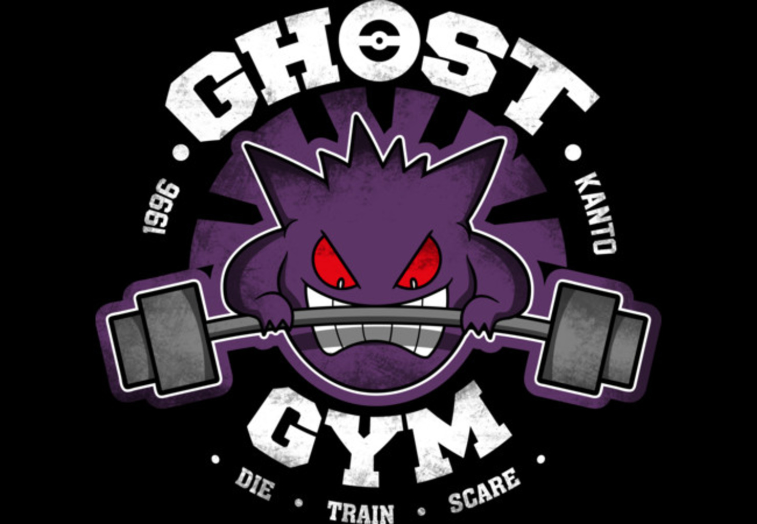 Design by Humans: Ghost Gym