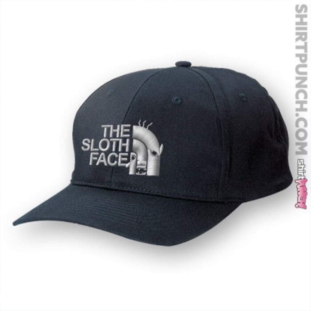 ShirtPunch: The Sloth Face Hat