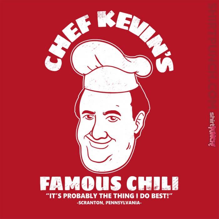ShirtPunch: Chef Kevin's