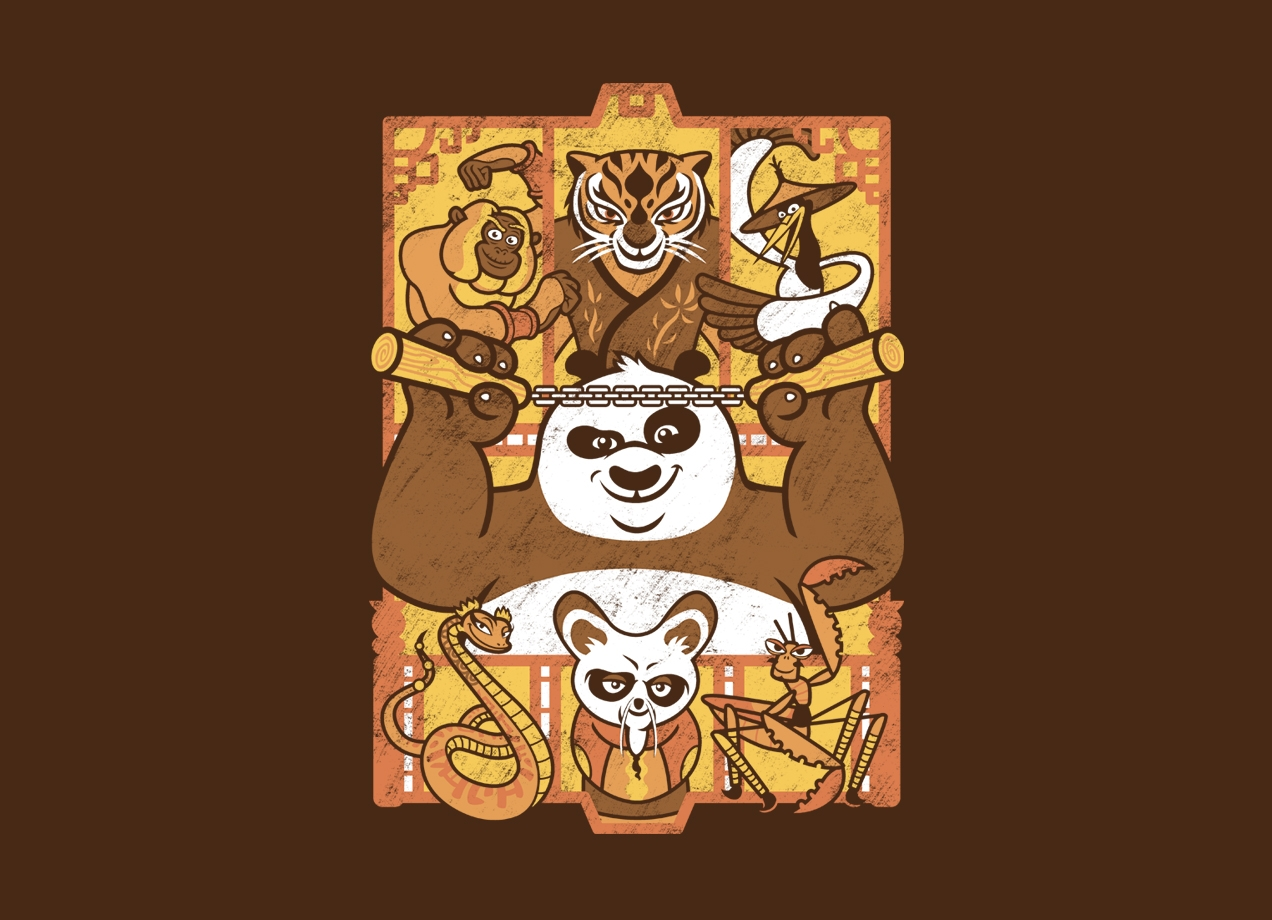 Threadless: Enter the Dragon Warrior
