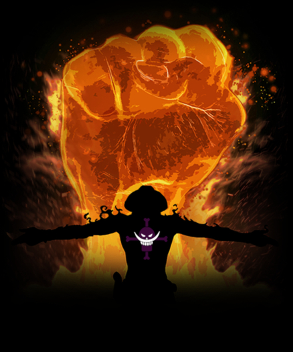 Qwertee: Fire Fist