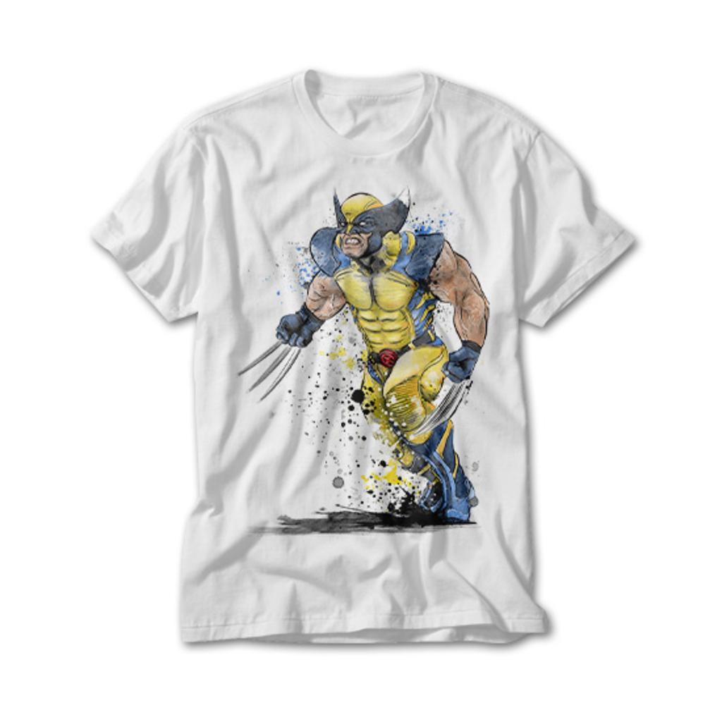 OtherTees: Mutant Rage Watercolor