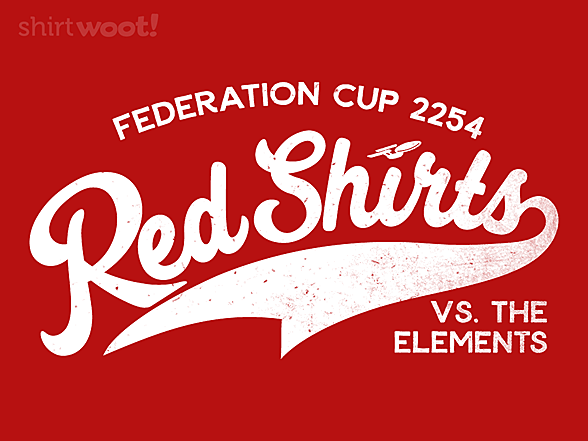 Woot!: Red Shirts vs The Elements
