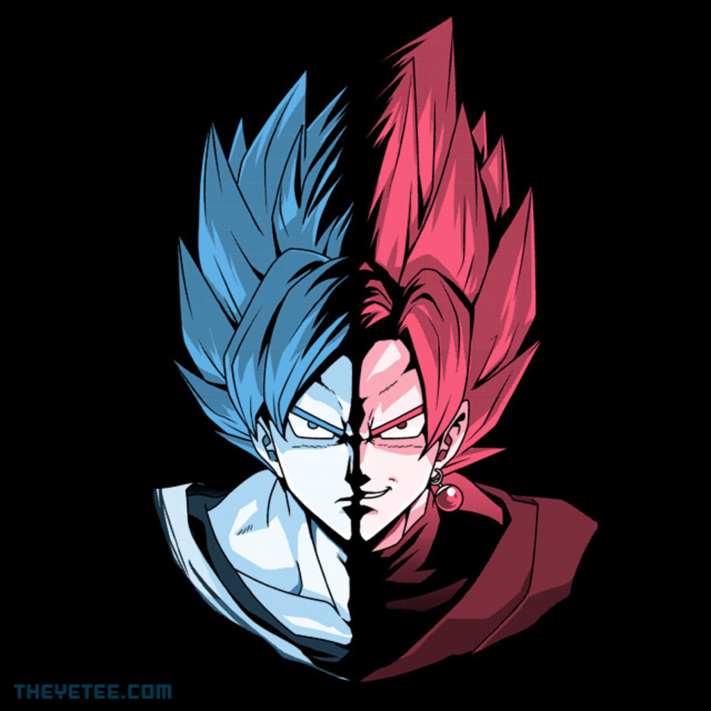 The Yetee: Blue Vs Rose