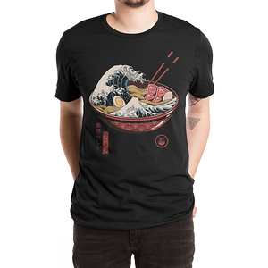 Threadless: Great Ramen Wave