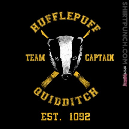 ShirtPunch: Hufflepuff