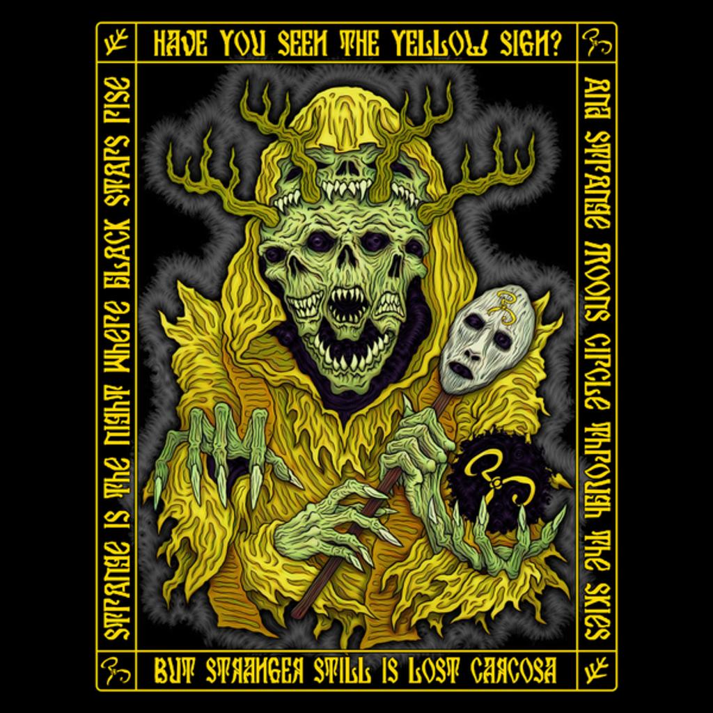 NeatoShop: Yellow King Icon - Azhmodai 2018