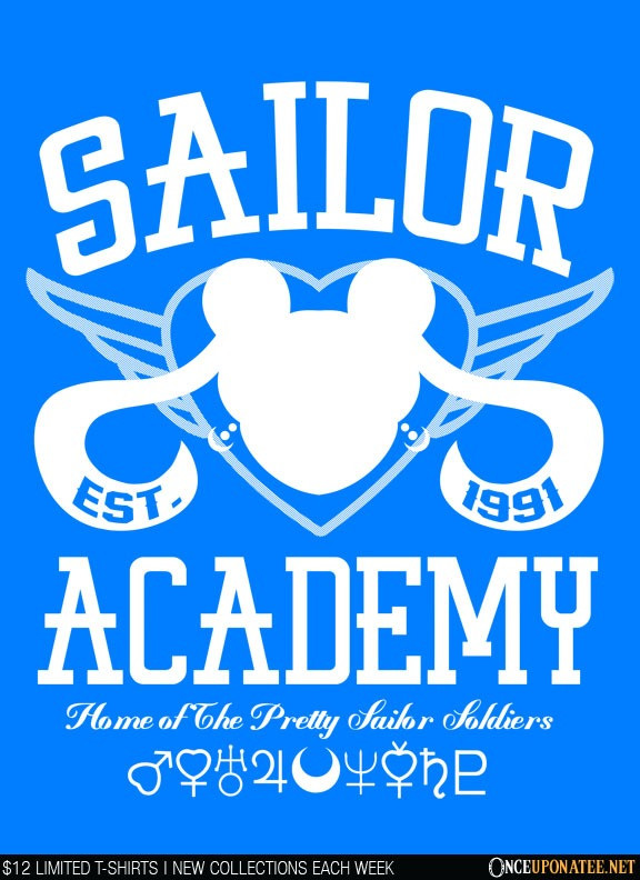 Once Upon a Tee: Sailor Academy