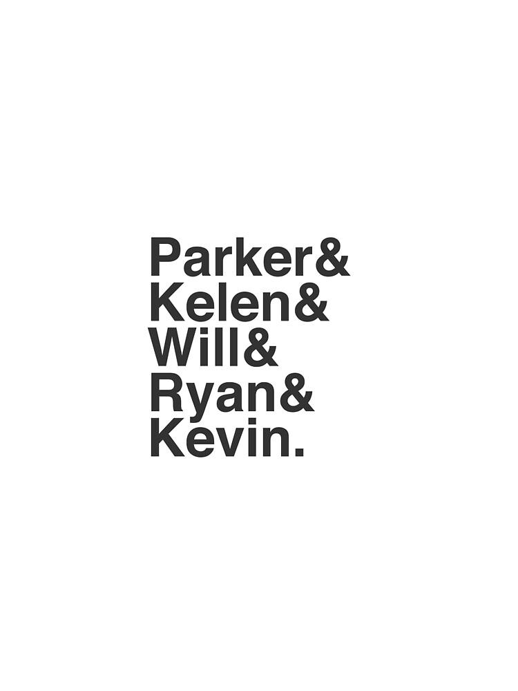 RedBubble: The Story So Far - Parker & Kelen & Will & Ryan & Kevin