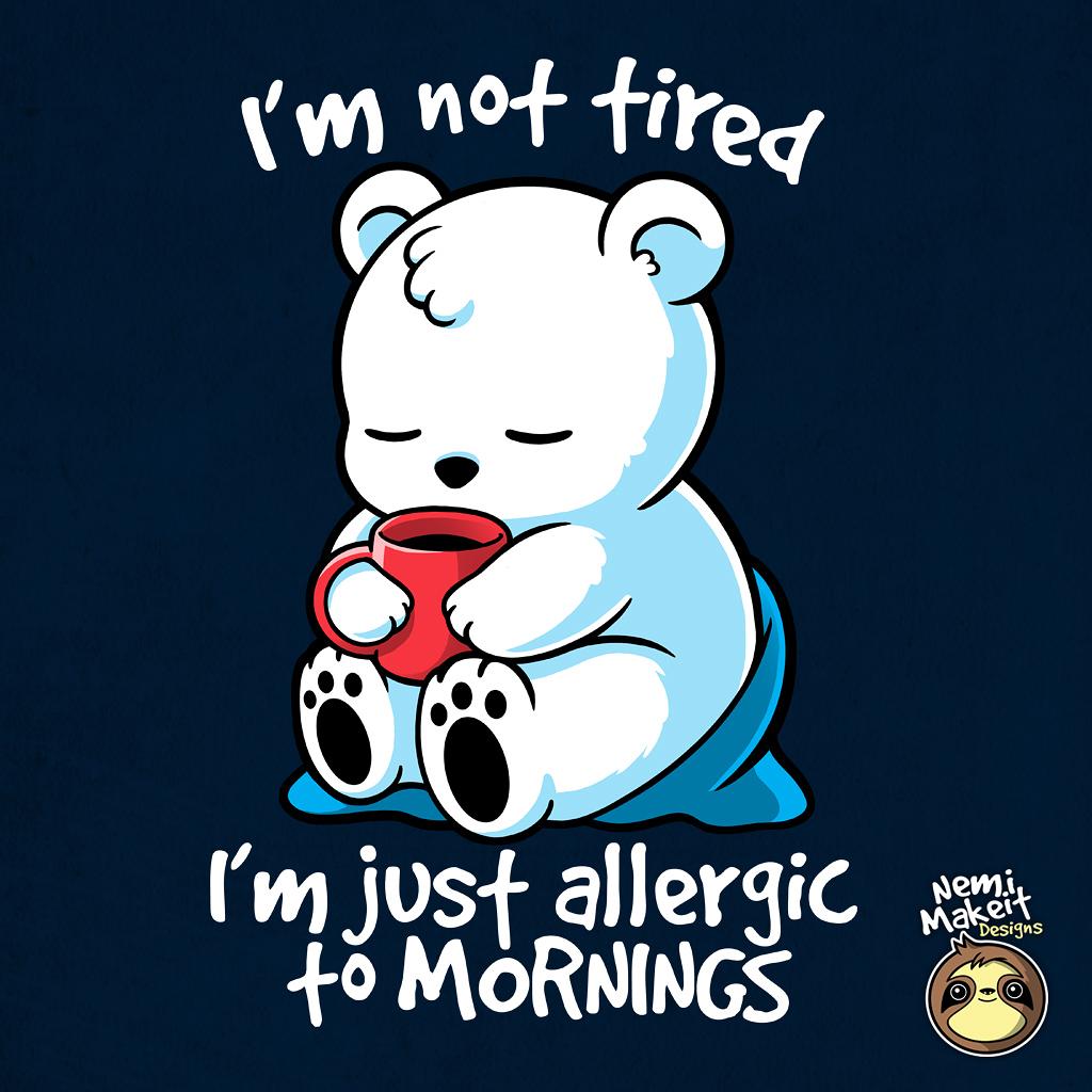 TeeTee: Tired polar bear