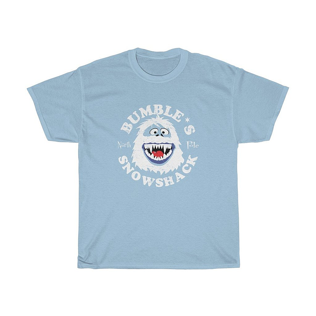 Snappy Kid: Bumble's Snowshack Men's Bumble Abominable Snowman T-Shirt
