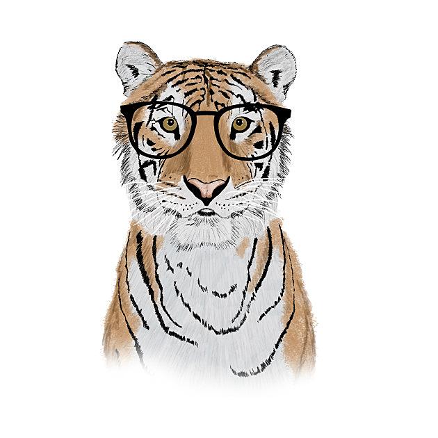 TeePublic: Clever Tiger - Apparel