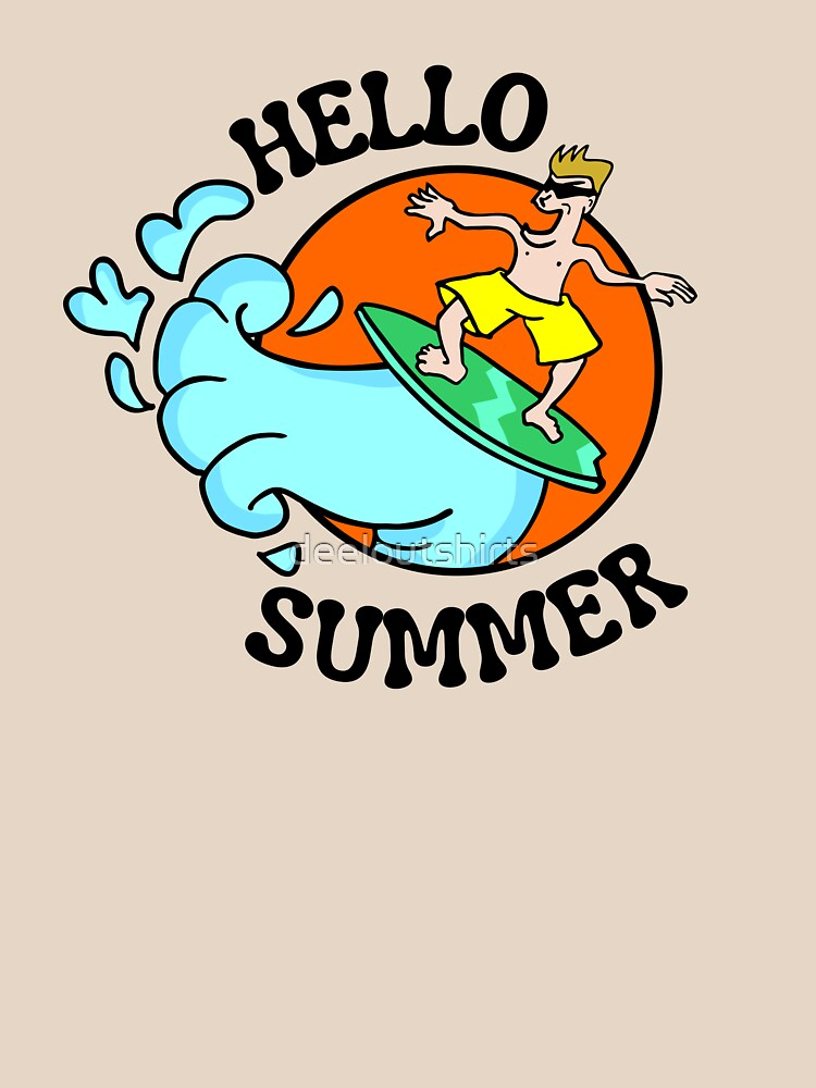 RedBubble: Funny Summer Graphic T-shirt, sunshine tees