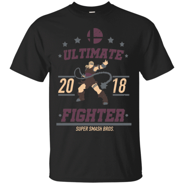 Pop-Up Tee: Ultimate Fighter Simon