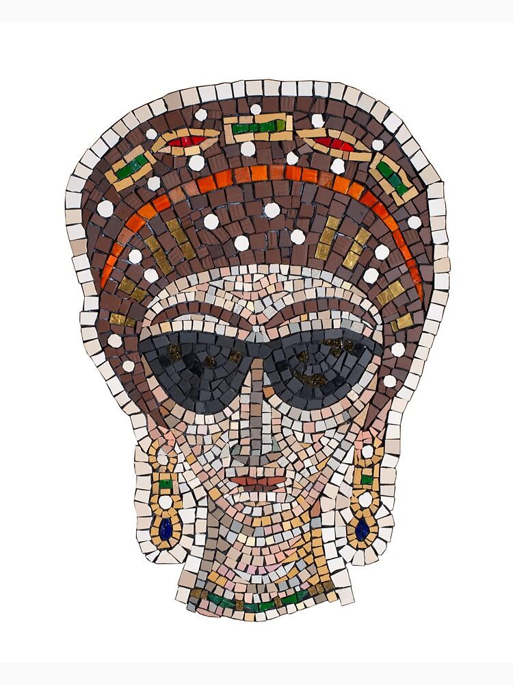 RedBubble: Empress Theodora incognito mosaic