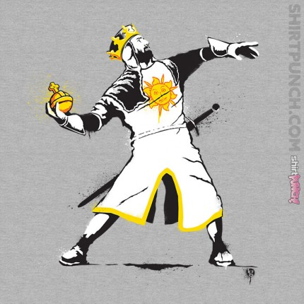 ShirtPunch: Banksy Python
