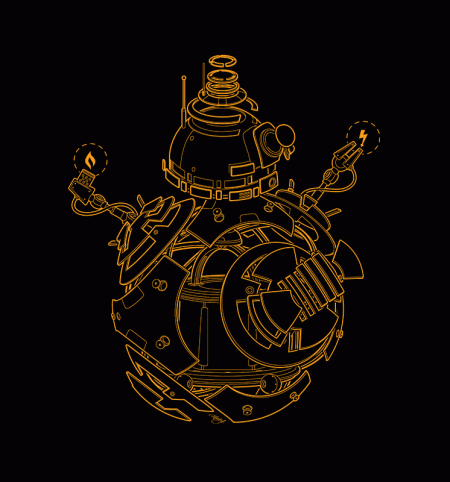 BustedTees: BP BB-8 (Expanded)