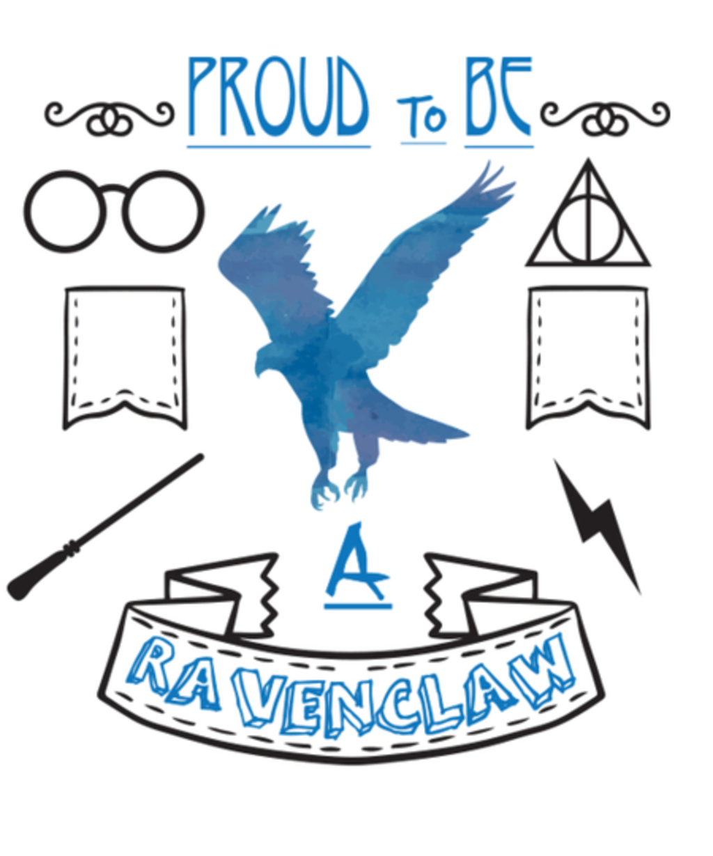 Qwertee: Proud to be a Ravenclaw