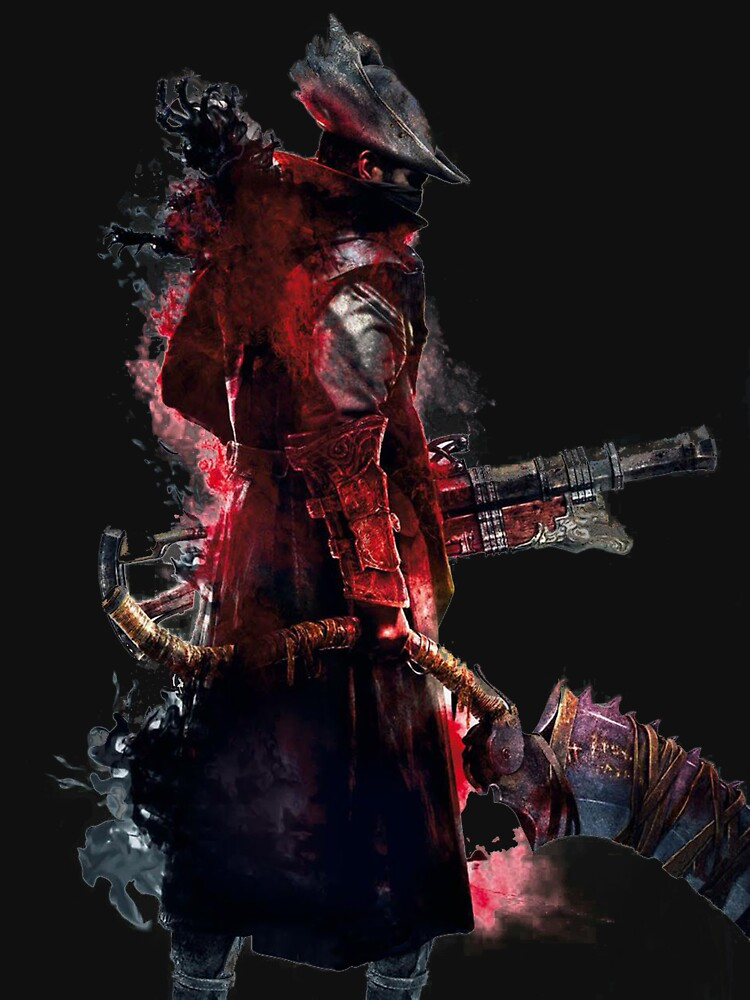 RedBubble: Bloodborne Hunter Print