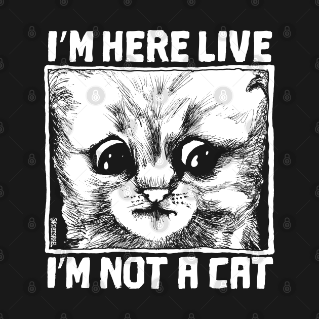 TeePublic: I'm Here Live