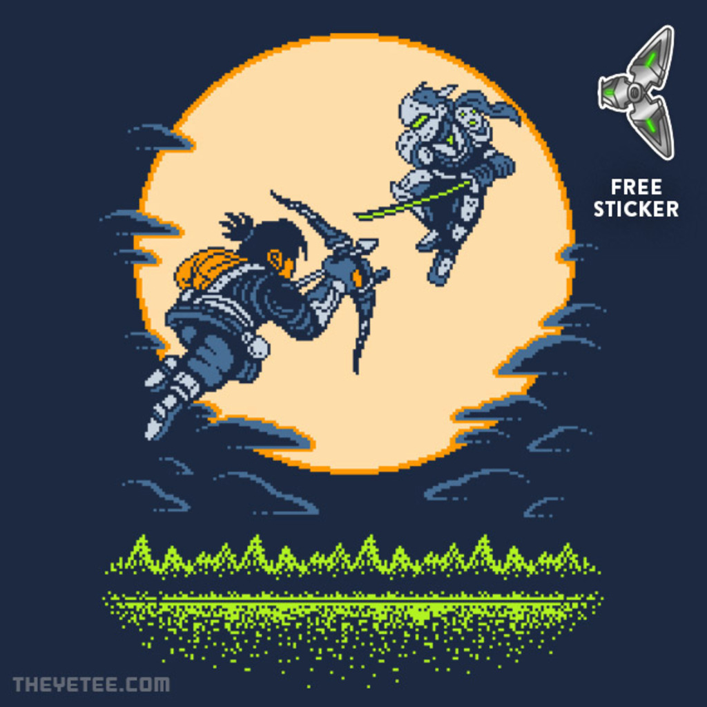 The Yetee: GENJI GAIDEN