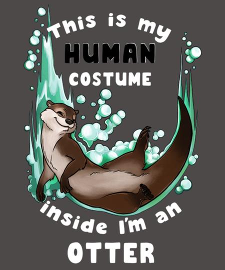 Qwertee: Inside I'm an otter