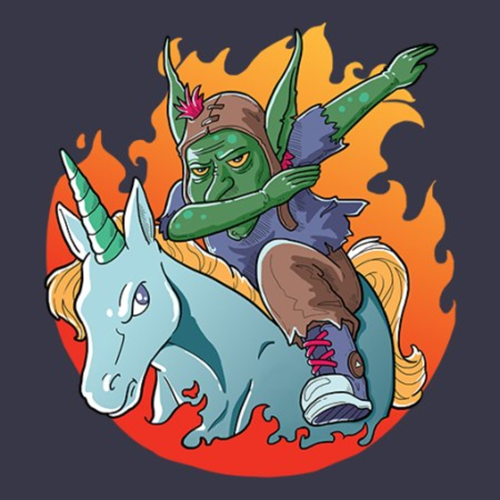 MeWicked: Goblin Dabbing on a Unicorn