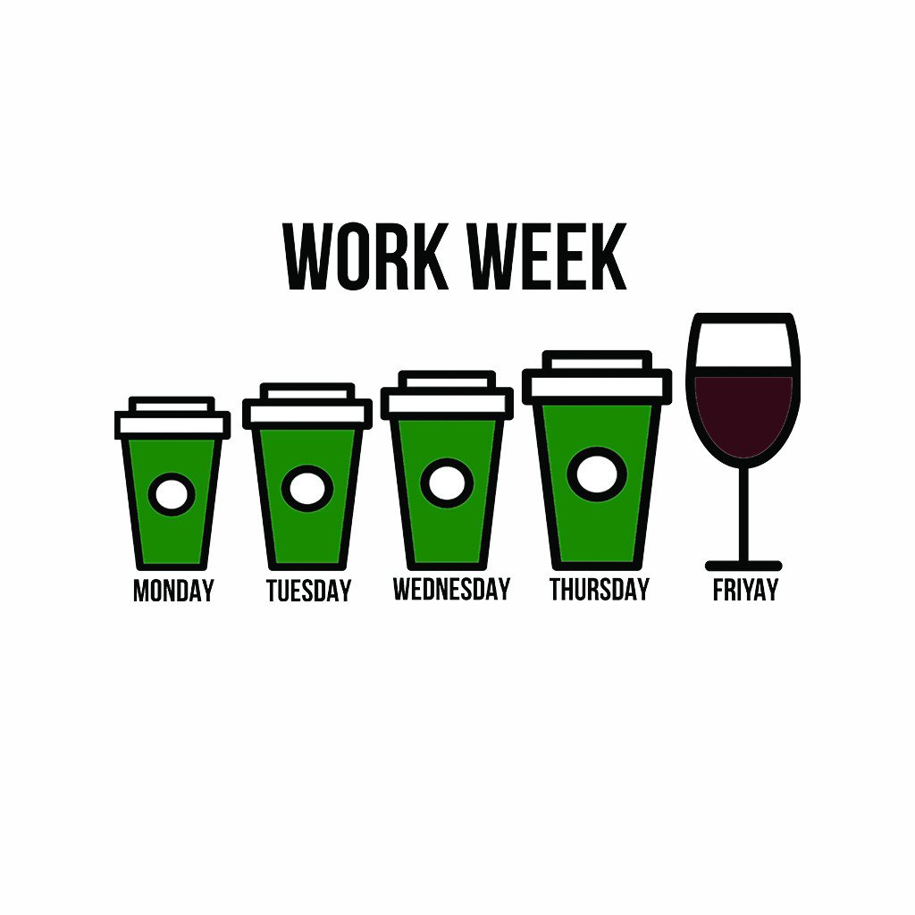LivingTees: Work Week Tee