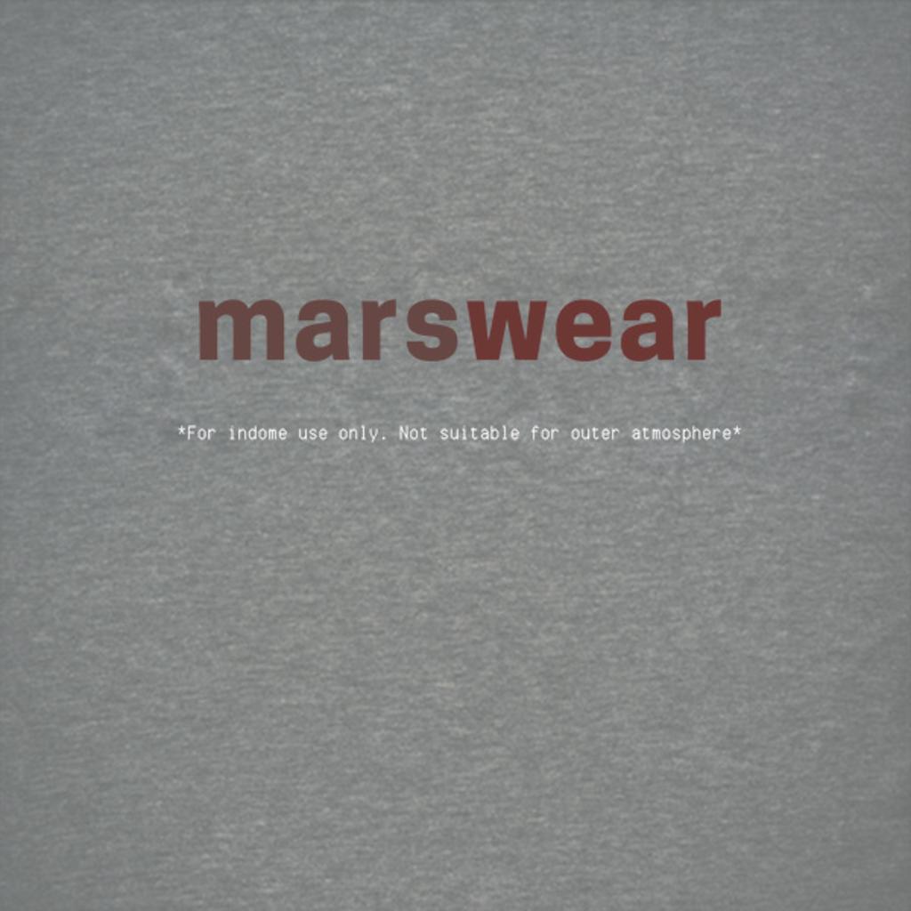 NeatoShop: MARSwear