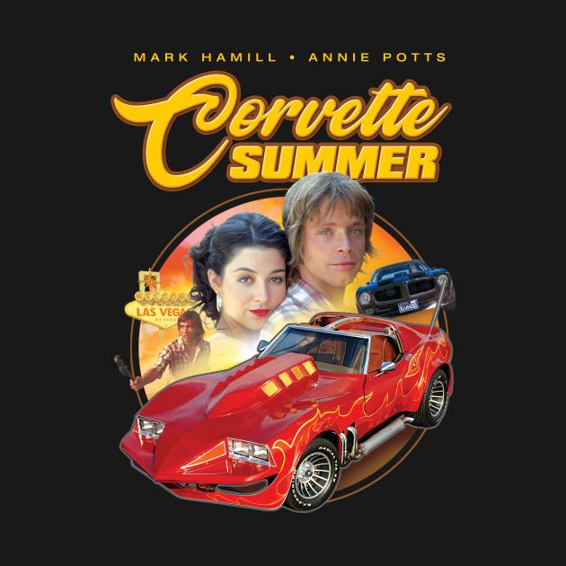 TeePublic: Corvette Summer T-Shirt - Fan Art Shirt - Cult Classic Car Movie