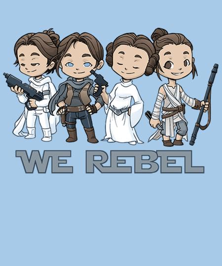 Qwertee: Rebel Girls
