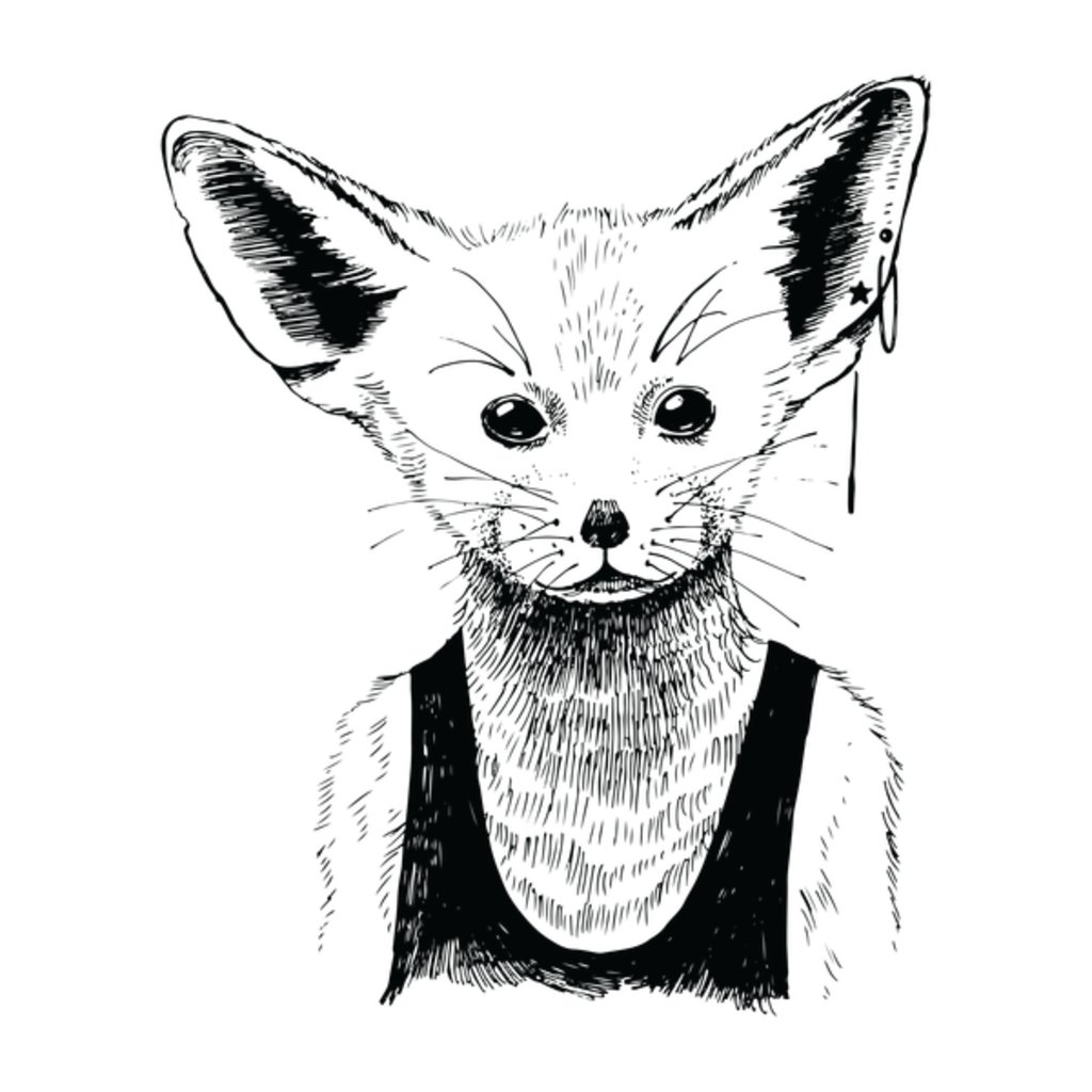 NeatoShop: Cute Hipster Fox