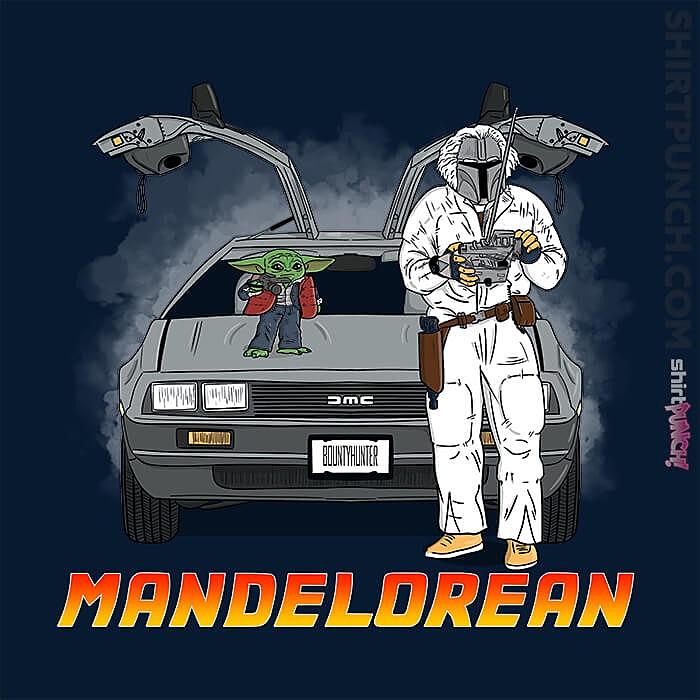ShirtPunch: Mandelorean