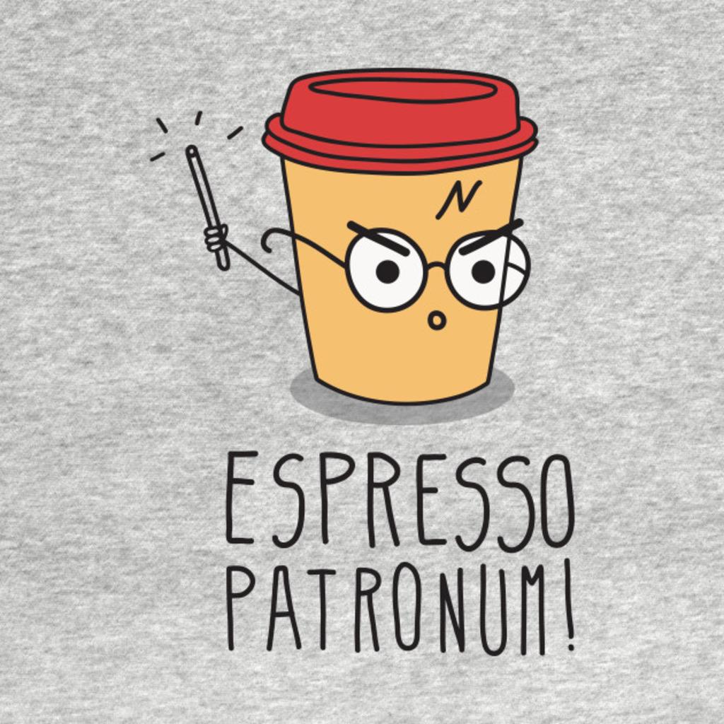 TeePublic: Espresso Patronum T-Shirt