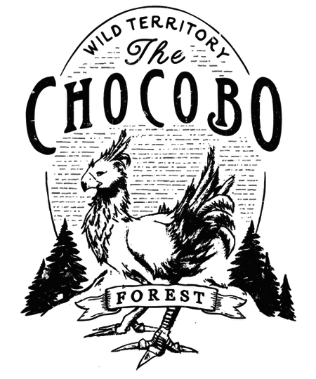 Qwertee: Chocobo Forest