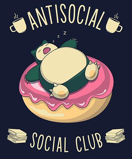 Qwertee: Antisocial Social Club