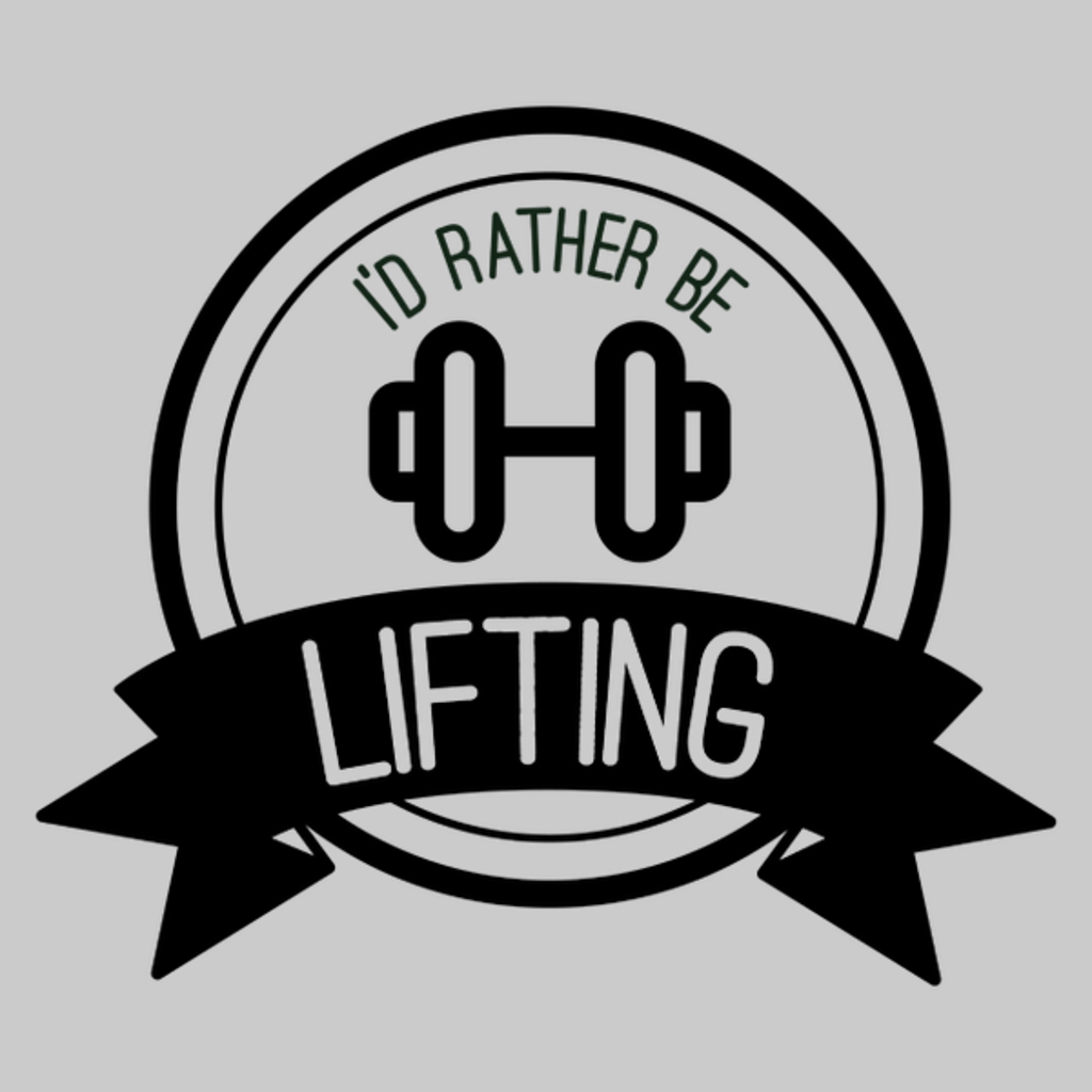 NeatoShop: I'd Rather Be Lifting