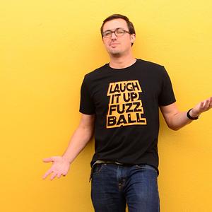 SnorgTees: Laugh It Up Fuzzball