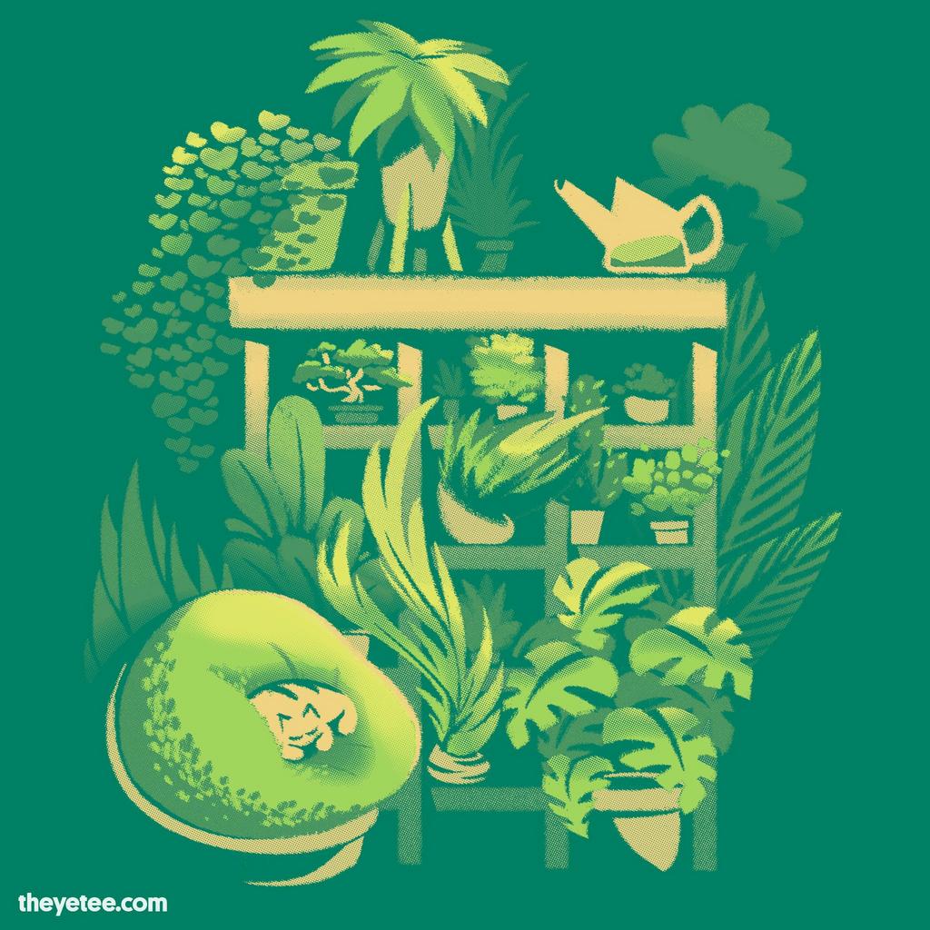 The Yetee: Plant Shelf