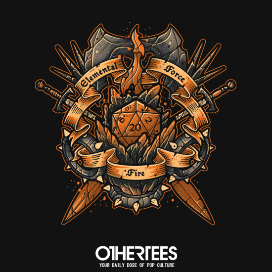 OtherTees: Elemental Force - Fire