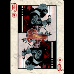 Design by Humans: Darth Vader Playing Card